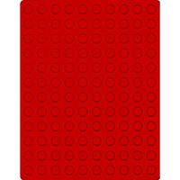 Velour insert light red, 2501E (Ø 16,5 mm) – Bild 1