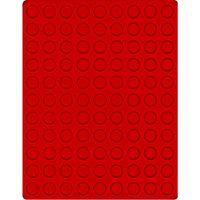 Велюровый планшет красного цвета  2502E (Ø19,25 мм) – Bild 1