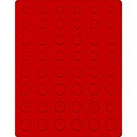 Velour insert light red, 2506E (for 5 x EURO coin sets) – Bild 1