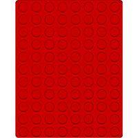 Велюровый планшет красного цвета  2510E (Ø21,5 мм) – Bild 1