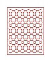 Inserto velluto rosso 2524E (Ø 24 mm) – Bild 2