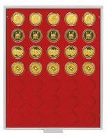 Inserto velluto rosso 2535E (Ø 34 mm) – Bild 2