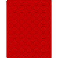 Inserto velluto rosso 2548E (Ø 26 mm) – Bild 1