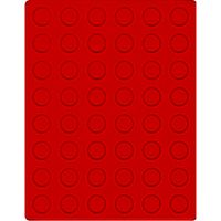 Velour insert light red, 2549E (Ø 24,25 mm) – Bild 1