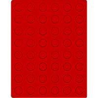 Велюровый планшет красного цвета  2549E (Ø24,25 мм) – Bild 1