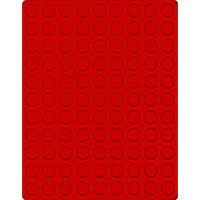Velour insert light red, 2550E (Ø 20 mm) – Bild 1