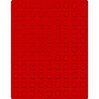 Велюровый планшет красного цвета  2550E (Ø20 мм) – Bild 1