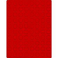 Велюровый планшет красного цвета  2580E (Ø22,25 мм) – Bild 1
