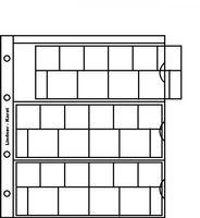 Нумизматические листы системы Кarat для размещения наборов монет евро, в комплекте с белым листом-прокладкой. Упаковка 5 штук.