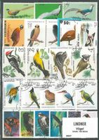 Briefmarkenpaket: Vögel (100 Briefmarken)
