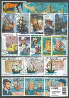 Stamp package: Ships & Boats (100 stamps)