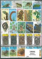 Stamp package: Reptiles (100 stamps)