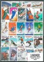 Stamp package: Olympics-Winter (100 stamps)