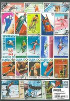 Stamp package: Olympics (100 stamps)