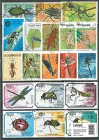 Briefmarkenpaket: Insekten & Käfer (100 Briefmarken)