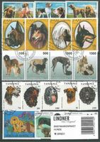 Stamp package: Dogs (100 stamps)