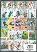 Stamp package: Soccer (100 stamps)