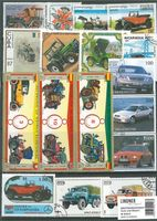 Stamp package: Cars and Motorcycles (100 stamps)