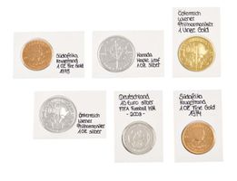 REBECK COIN L coin holders for coins up to 25 mm, self adhesive - pack of 25 – Bild 1