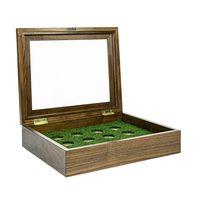 Luxury solid wood Golf ball showcase – Bild 3