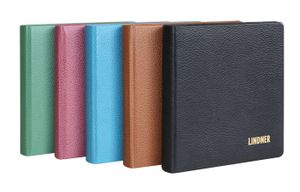 karat - Coin album LEATHER, incl. 10 coin pages, wine red – Bild 4
