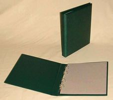 KOBRA - Ring binder, empty, green 270 x 230 mm