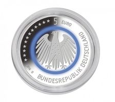 "Coin capsules internal Ø 27,5 mm - pack of 10, e.g. for the German 5 Euro collector coin ""Planet Earth"" – Bild 3"
