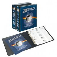 PUBLICA M Illustrated album for 20 Euro-Silver coins Germany incl. Slipcase – Bild 1