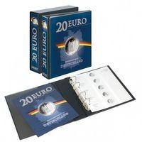 PUBLICA M Vordruckalbum 20 Euro-Silbermünzen Deutschland inkl. Kassette – Bild 1