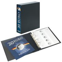 PUBLICA M Illustrated album for 20 Euro-Silver coins Germany incl. Slipcase – Bild 2