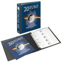 PUBLICA M Illustrated album for 20 Euro-Silver coins Germany