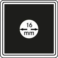 Münzkapseln CARRÉE 16 mm, 4er Pack – Bild 1