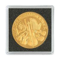 Münzkapseln CARRÉE 17 mm, 4er Pack – Bild 3