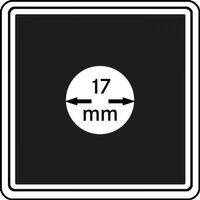 Монетные капсулы CARRÉE 17 мм, в комплекте 4 капсулы – Bild 1