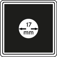 Münzkapseln CARRÉE 17 mm, 4er Pack – Bild 1