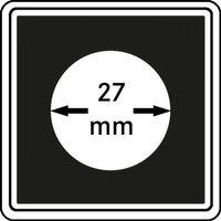 Münzkapseln CARRÉE 27 mm, 4er Pack – Bild 1