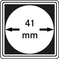 Münzkapseln CARRÉE 41 mm, 4er Pack – Bild 1