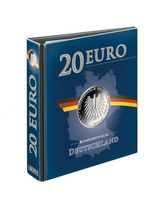 PUBLICA M Illustrated album for 20 Euro-Silver coins Germany, empty