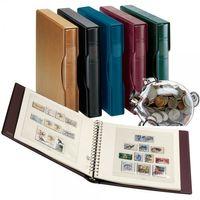 Luxembourg - Feuilles pré-imprimées Année 1985-2003, incl. Ensemble reliure et boîtier (Nº Réf. 1124)