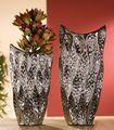 "Gilde Deko Vase ""Gota"", 49 cm, platin Bild 2"