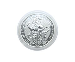 Coin capsules internal Ø 39 mm - pack of 100, for 2 Oz United Kingdom Queen's Beast (silver) – Bild 2