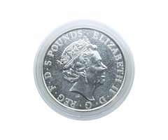 Coin capsules internal Ø 39 mm - pack of 10, for 2 Oz United Kingdom Queen's Beast (silver) – Bild 1