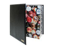 Album pour 210 muselets de champagne, noir – Bild 2