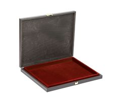 Solid wood case CARUS-1 with dark red insert   – Bild 1