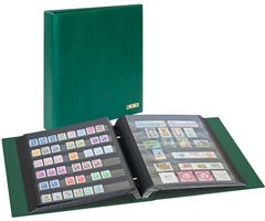 Stamp album mit screw-mechanism, green – Bild 1