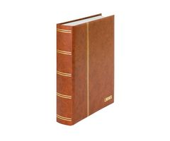 "Stockbook ""LUXUS"" brown, with 60 white pages and matching slipcase – Bild 3"