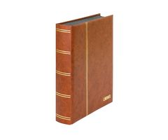 "Stockbook ""LUXUS"" brown, with 60 black pages and matching slipcase – Bild 3"