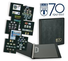 "Anniversary ring binder ""70 years LINDNER Falzlos-Album"" incl. 20 pages Omnia of your choice  – Bild 1"