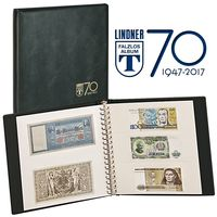 "Anniversary ring binder ""70 years LINDNER Falzlos-Album"""" incl. 20 transparent pages – Bild 1"