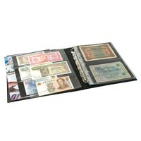 "PUBLICA M Banknote Album with 20 double-sided ""Multi collect"" pages in 2 different layouts – Bild 3"